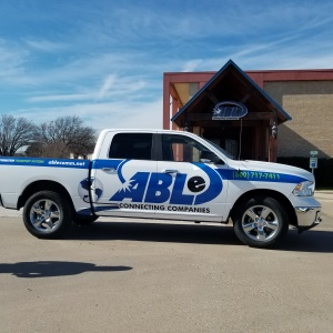 Able Communication Fleet Graphics and Wraps