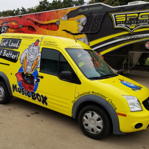 Music box Van Wrap