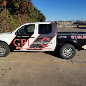 GP1 Collision Truck Wrap