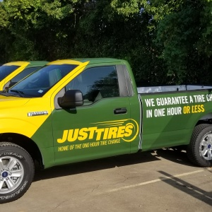 Just Tires Fleet Wraps