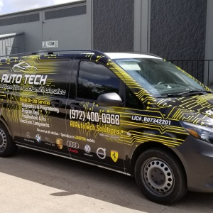 All Auto Tech Van Wrap