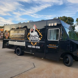 Waffleolicious Food Truck Graphics