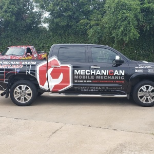 Mechanican Truck Wrap
