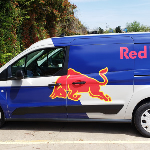 Red Bull Van Wrap