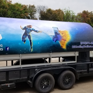 D&S Cooling Trailers Commercial Wrap