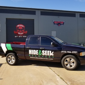 Hide and Seek Truck Wrap