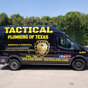 Tactical Plumbing of Texas Van Wrap