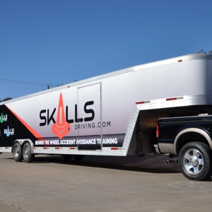 Skills Driving Trailer Wrap