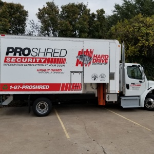 ProShred Box Truck Wrap