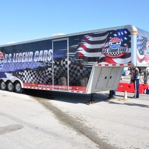 Us Legend Cars Trailer Wrap