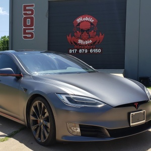 3M Satin Dark Grey Tesla Color Change