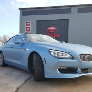 Avery Frost Blue on BMW