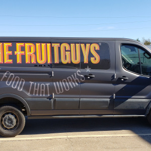 The Fruit Guys Van Wrap